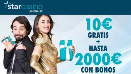 Premier Star Casino: bono sin depósito 10 euros gratis
