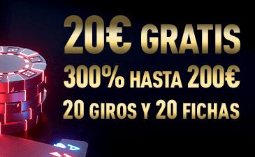 Bono gratis exclusivo con Sportium Casino