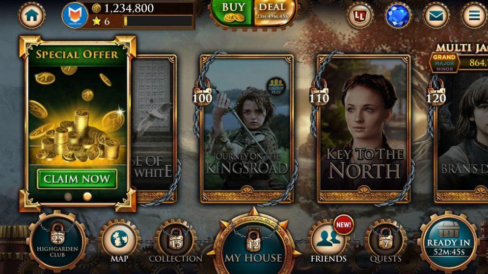 Descubre como ganar jugando a la slot de Juego de Tronos