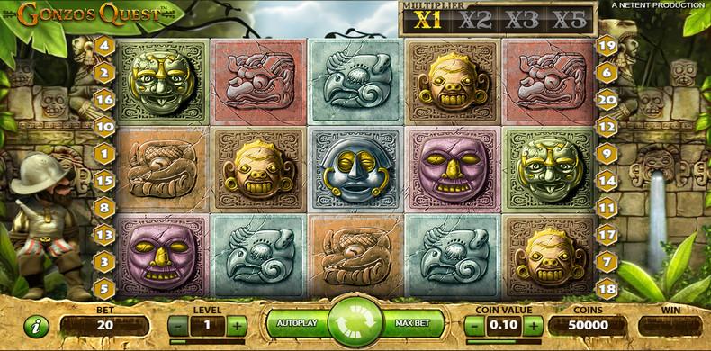 Descubre como jugar en la slot Gonzo´s Quest