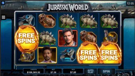 Diversión prehistórica con la slot de Jurassic World