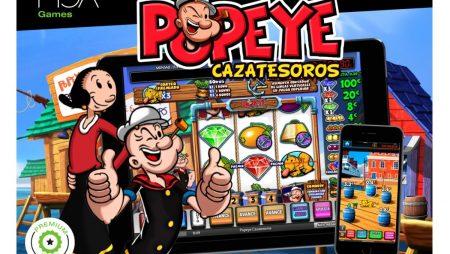 Juega y gana con la tragaperras de Popeye Cazatesoros