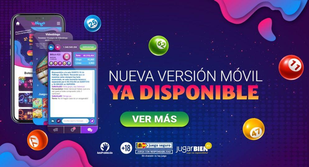 Cómo descargar la app de YoBingo