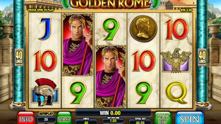 Viaja a la antigua Roma en la slot Rome the Golden Age