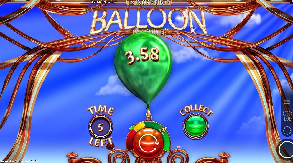 Revolución en las slots: The Incredible Balloon Machine