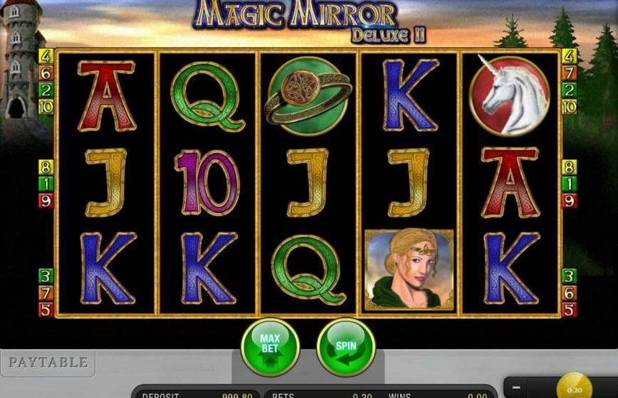 Vive la magia con Magic Mirror Deluxe Slot