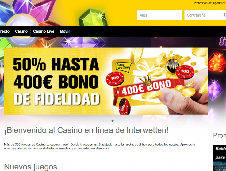 Comparador de casinos: PlayUZU vs Interwetten Casino