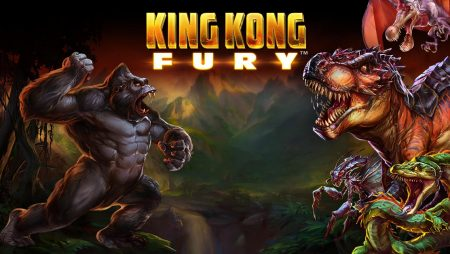 Gorilas en Nueva York con la slot King Kong Fury