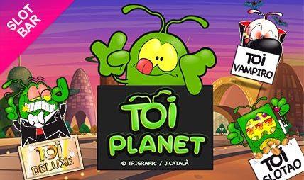 Vuelve al pasado con la tragaperras de Toi Planet