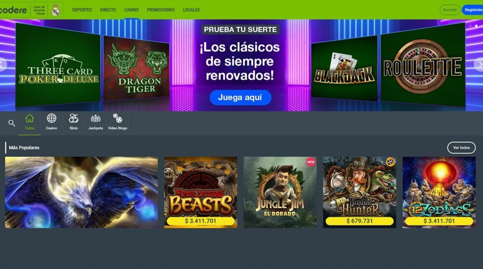 Jugar al casino online de forma segura y responsable