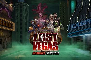Llega la moda de los Rascas, disfruta con Lost Vegas Zombies Scratch