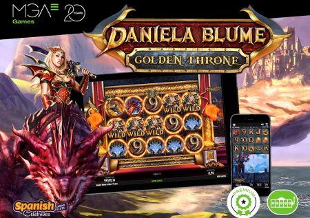 Alucina con la increíble tragaperras de Daniela Blume Golden Throne