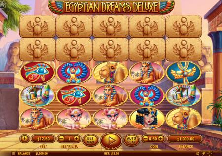 Sueños en el desierto con la slot Egyptian Dreams